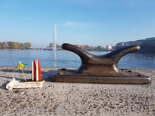 Hamburg, am Jungfernsteg (Marc Markus)