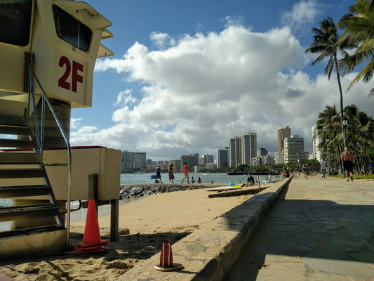 Hawaii, Honolulu: Die Promenade von Waikiki (Gitta)