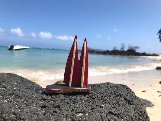 Mauritius, Cap Malheureux. Klingt traurig, ist es aber nicht. Das Cap liegt im Nordwesten der Insel, von dort aus kann man super Schnorcheltouren machen. Hier ist das Meer noch ruhig, etwas weiter östlich gehts dann zur Sache. Ein Surferparadies (StAngie)