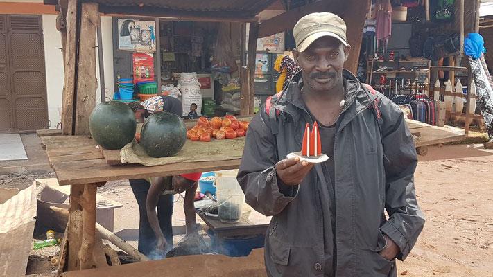 Afrika, Uganda: Kasiim (Igel)