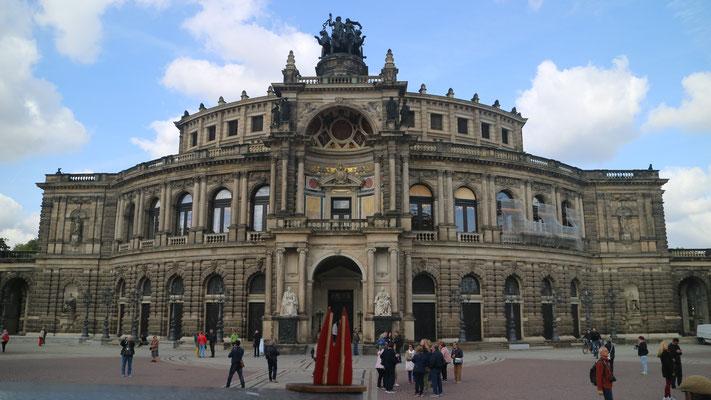Dresden, Semperoper (Silke)