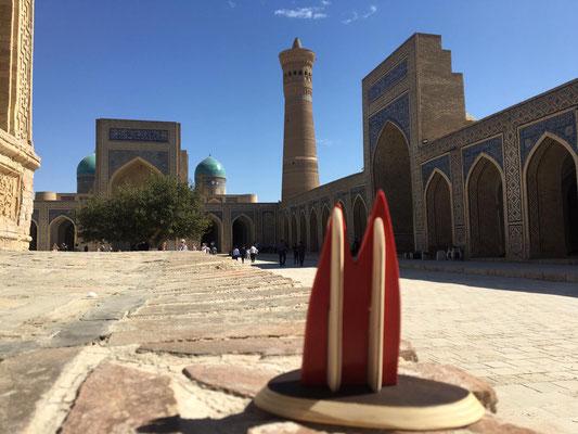 Usbekistan, Bukhara. Das historische Zentrum ist - klar: Weltkulturerbe (Heimathirsch)