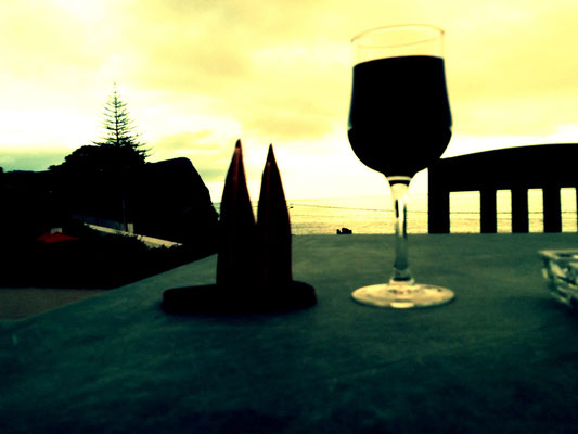 Azoren, Insel Terceira, der Azorenwein ist exzellent, wird  leider nicht exportiert. (Phil)
