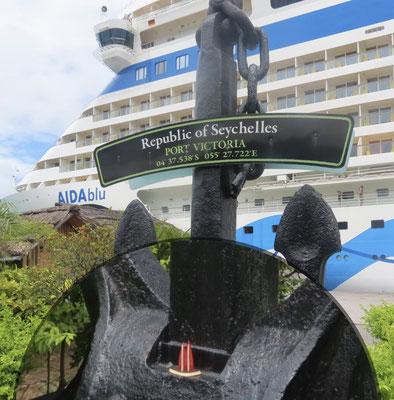 Seychellen, am Hafen