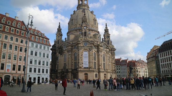 Dresden, Neumarkt mit Frauenkirche (Silke)
