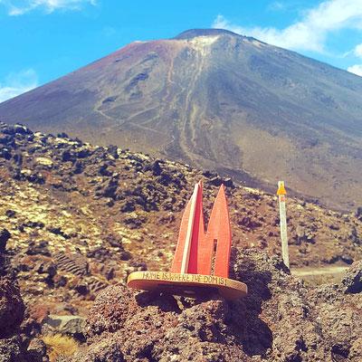Neuseeland, Mount Tongarirro, auch bekannt als Schicksalsberg aus Herr der Ringe..tolle EinTagesWanderung..zur Spitze hoch ist sehr mühsam, aber lohneswert. Tipp: Bier mitnehmen und in den ganzjährigen vereinzelten Schneefeldern kühlen. (Phil)