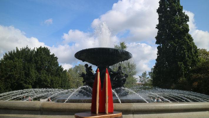 Dresden, Brunnen am Albertplatz (Silke)