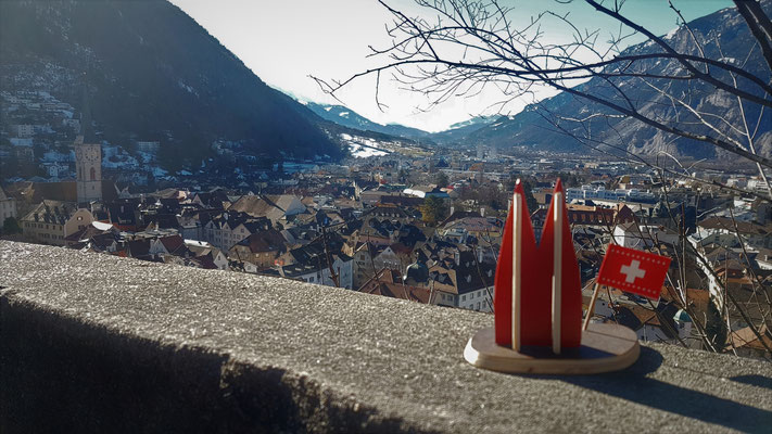 Schweiz: Chur im Frühling (Stephanie)