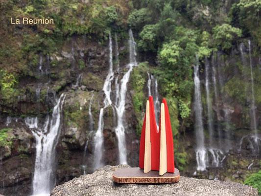 La Réunion: Route de Grand Galet und der beeindruckende Wasserfall in Langevin - Cascade de Grand Galet - ein Must See auf der Insel. (StevieAngie)