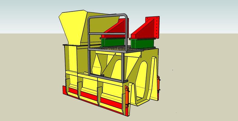 Conception d'un moule dysimétrique pour la réalisation d'un drain disymétrique - Ile Maurice