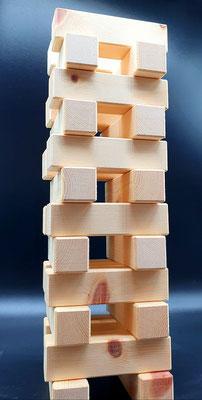 Holzklötze Werbeartikel