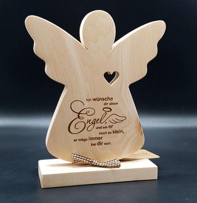 Zirben Engel Geschenk