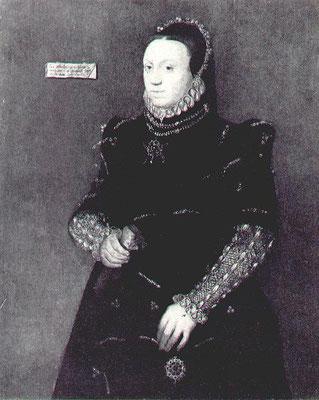 Portrait of Jane Fitzalan, Lady Lumley, 1563. (c) http://www.tudorplace.com.ar/FITZALAN.htm