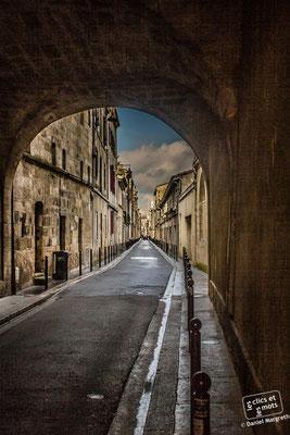 19 janvier 2014. Passage, quai des Chartrons. 33000 Bordeaux.