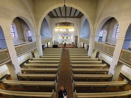 Die Kirche in Westerland wartet auf uns