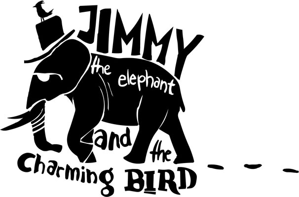 Jimmy the Elephant and the charming Bird