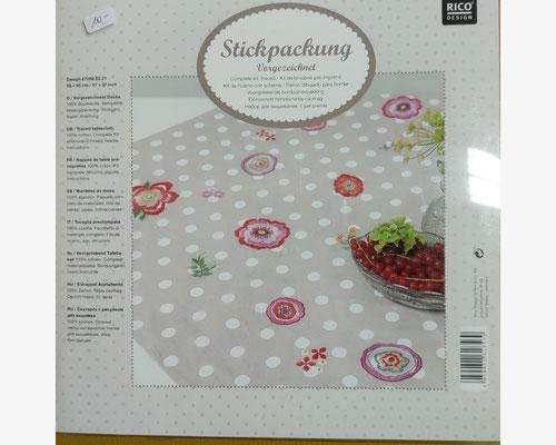 Blütendecke vorgezeichnet, Komplettpackung    10 €