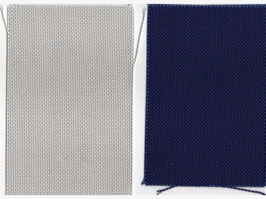 grau 180 cm breit 30 €/m   dunkelblau 180 cm breit 32,-€/m nur auf Anfrage