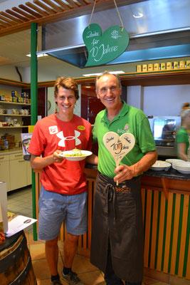 Biochi Stammgast und WM-Medaillengewinner Paul Gerstgraser kam auch vorbei, um zu gratulieren - Danke! Wir haben uns sehr gefreut.