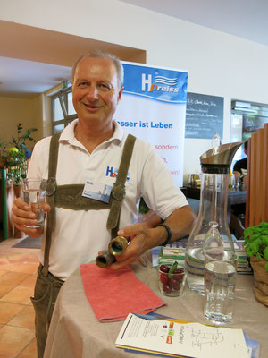 """Franz Pointner erklärte Interessantes rund um """"Reines Wasser"""""""