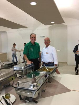 """Veganes Bio-Catering für die Veranstaltung """"Heilung Jetzt"""" mit Ruediger Dahlke"""