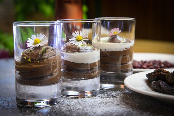 Veganes Dessert: Azukibohnen-Aprikosen-Creme