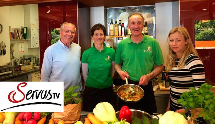 Mit Elvira Geierspichler und Dr. Hans Gasperl