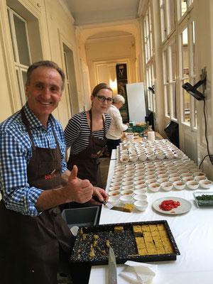 Veganes Catering für den Styria Verlag in Wien