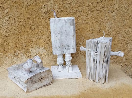 bookbabes, Tischskulpturen, ca. 30 cm