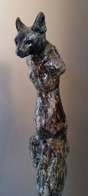 screwed cat (joyconetti), ca. 140cm
