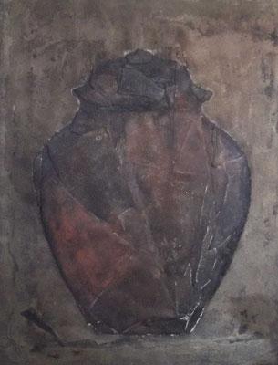 vase chinoise, ca. 70 x 90 cm