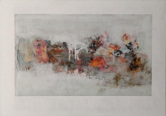 rhaegal (glass), ca. 120 x 80 cm