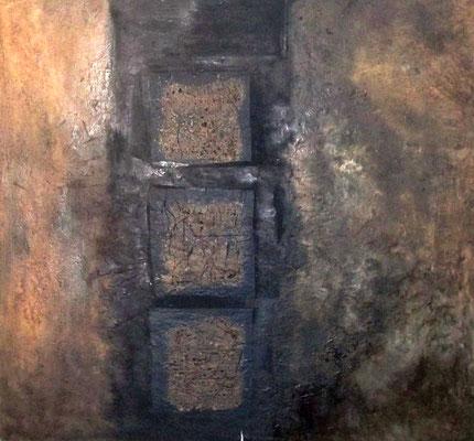 filmriss, ca. 105 x 115 cm