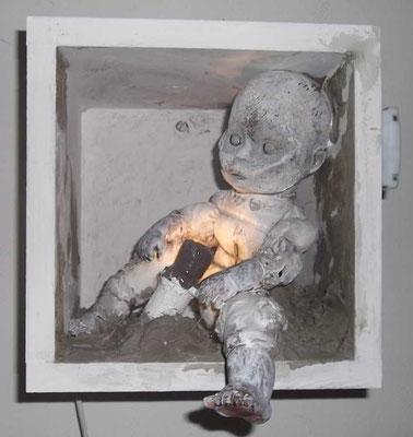 mammapapa, Wandinstallation, ca. 60 x 60 cm