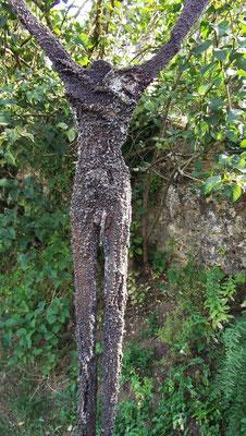 c.h. (cerf hubertus), Skulptur aussen, ca. 22 cm