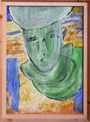 Der Geist Mamboo, 83 x 51 cm