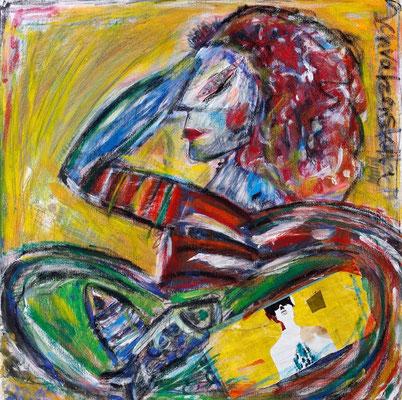 Erinnerung an Solveige, 60 x 60 cm