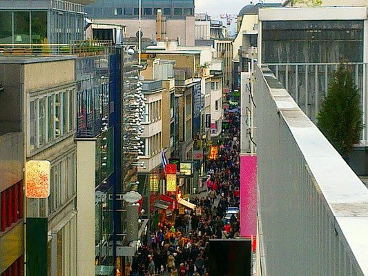 Kölner Fußgängerzone 2012, fotografiert von FOTOMIE.de
