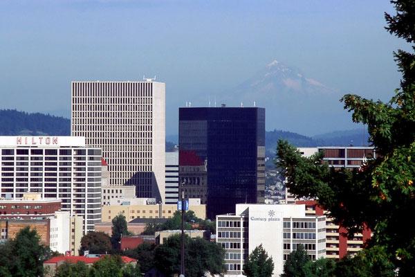 Skyline von Portland, Or. (1995)