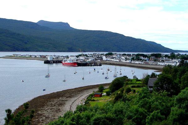 Auf dem Weg nach Ullapool im Hohen Norden Schottlands