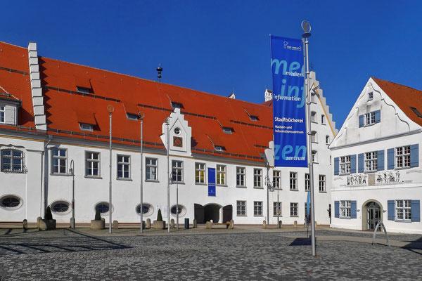 Das Biberacher Schloss ist heute Museum (Lumix GM5)