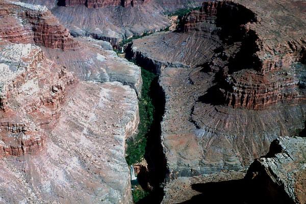 Havasupai Canyon und Falls, Az. 1984