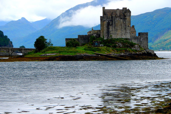 Eilean Donan Castle - das Stammschloss des 'Highlanders'