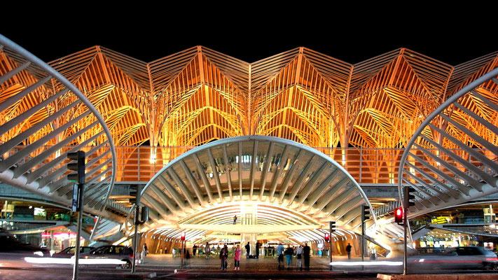 Gare do Oriente (Ostbahnhof) im Park der Nationen