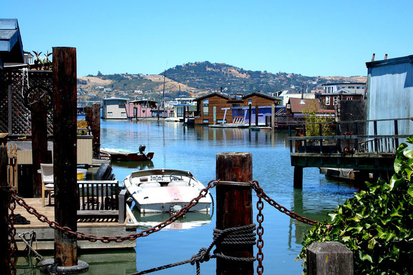 Houseboat Marina in Sausalito