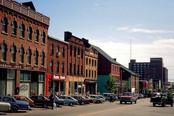 Charlottetown ist die Hauptstadt von Prince Edward Island