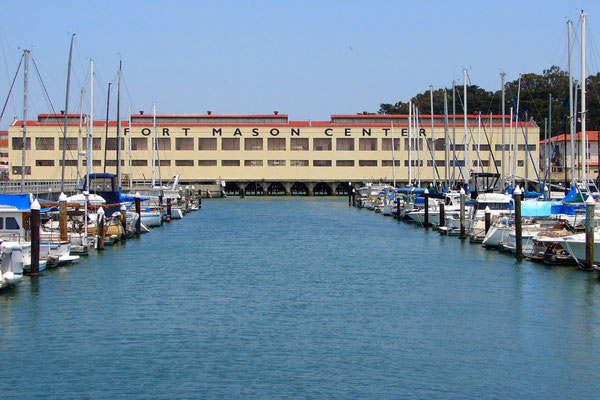 Fort Mason an der San Francisco Bay