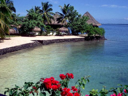 Beachcomber Bungalow-Hotel auf Tahiti