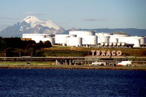 Auf der Fähre von Seattle nach Friday Harbor, Wa. (1995)