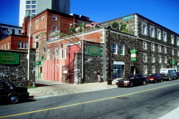 Die ehemalige Brauerei in Halifax ist heute ein Museum
